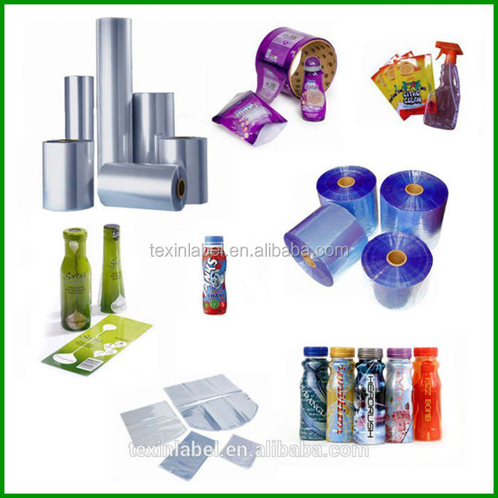 Pvc Heat Shrink Film /new Design Plastic Shrink Label /pvc Heat ...