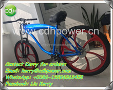 2 stroke 80cc gasoline engine powered motorized bicycle