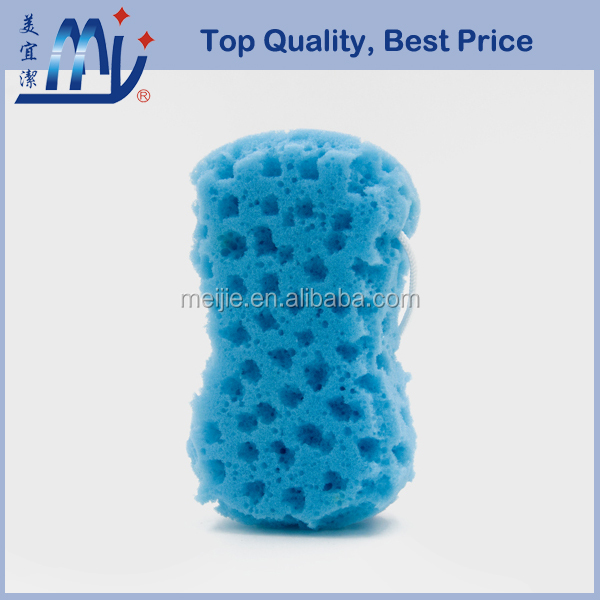 Wholesales 8 soap shaped massage PU bath sponge bath scourer for men women and baby body washing scrubber synthetic sea sponge