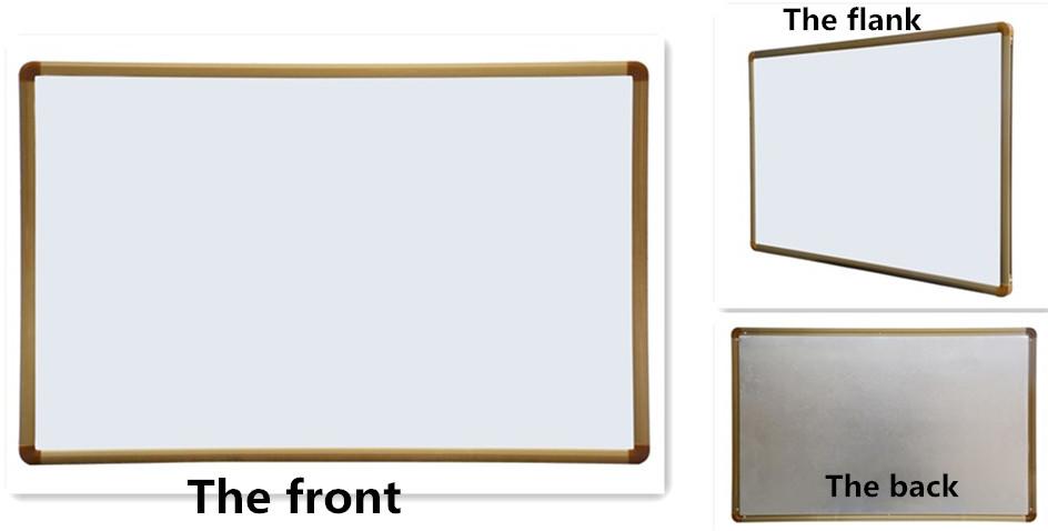 Beweegbare prikbord magnetische schrijven bericht white board met stand voor kantoor