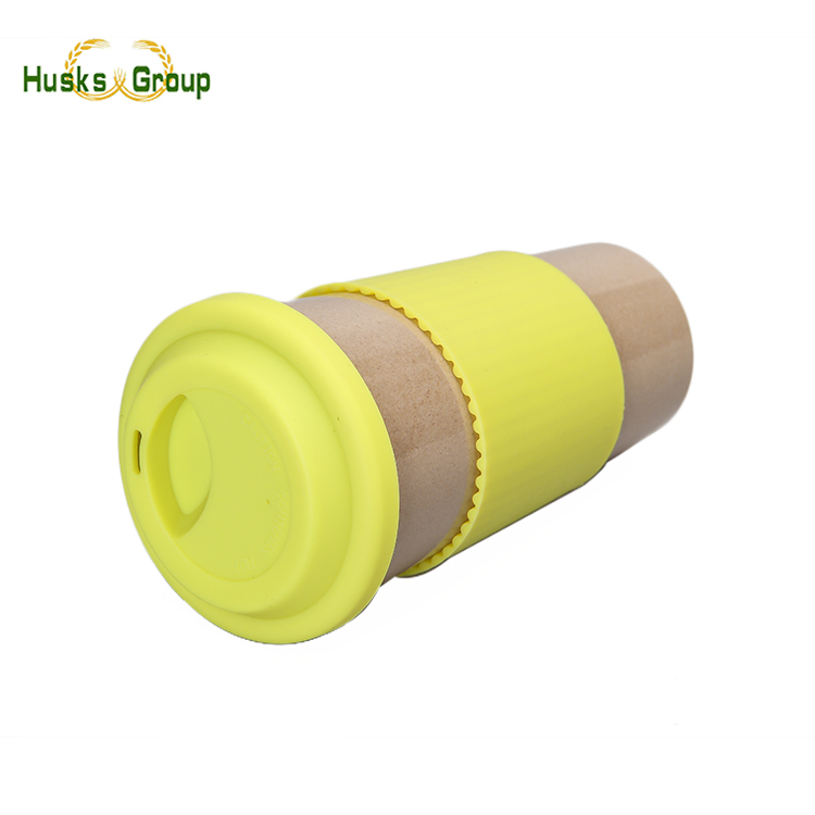 Biodegradable Bamboo Fiber Eco Travel Mug