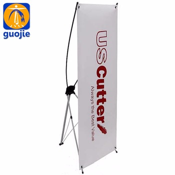 advertising flex banner sample design x banner stand with 80 x 180 cm