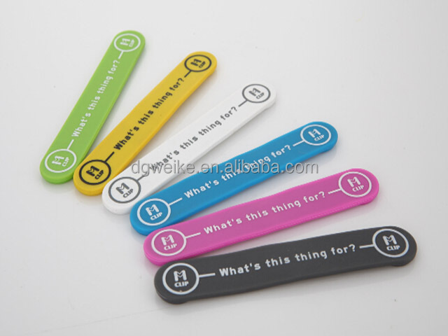 Flexible multi-purpose silicone magnetic wire unique money clip