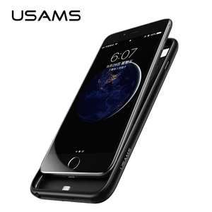 USAMS 4200mAh Ultra Slim External Battery Charger Power Bank Case for iphone 6 7 8 plus X