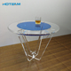 Modern Cheap Round Acrylic Glass Coffee Table