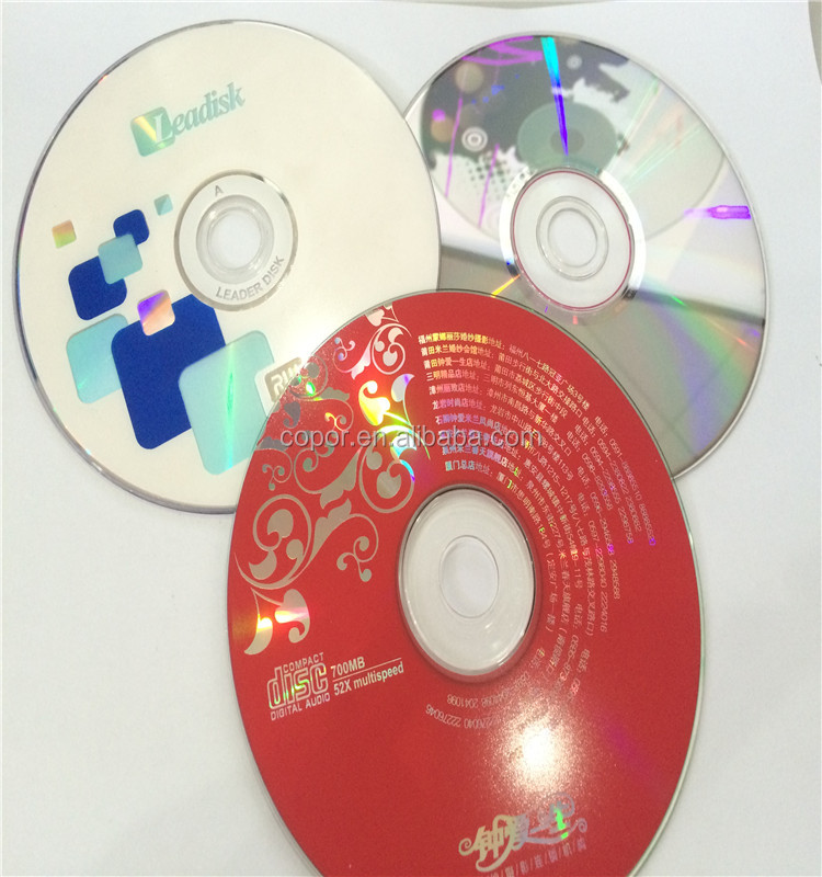 FOB shenzhen price CD-R/CDR/BLANK MEDIA CD disc in hot sale