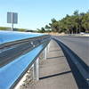 Trade assurance new design zinc coated low cost per foot road safety equipment metal highway guard rail
