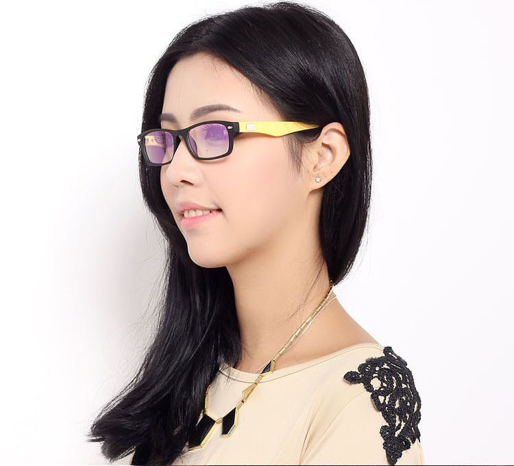 Free shipping fashion ultra-light muticolor plastic optical eyeglasses, prescription spectacle frames, nerd frames 3109