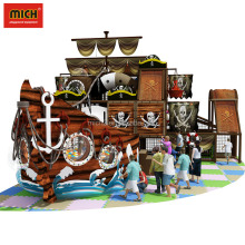 Commercial Nice Indoor Playground Naughty Fort,Interior Pirate Ship Amusement Sets