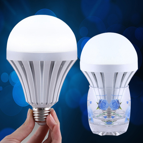 E27 B22 led emergency light Smart intelligent led rechargeable lights 9w 12w rechargeable lamp