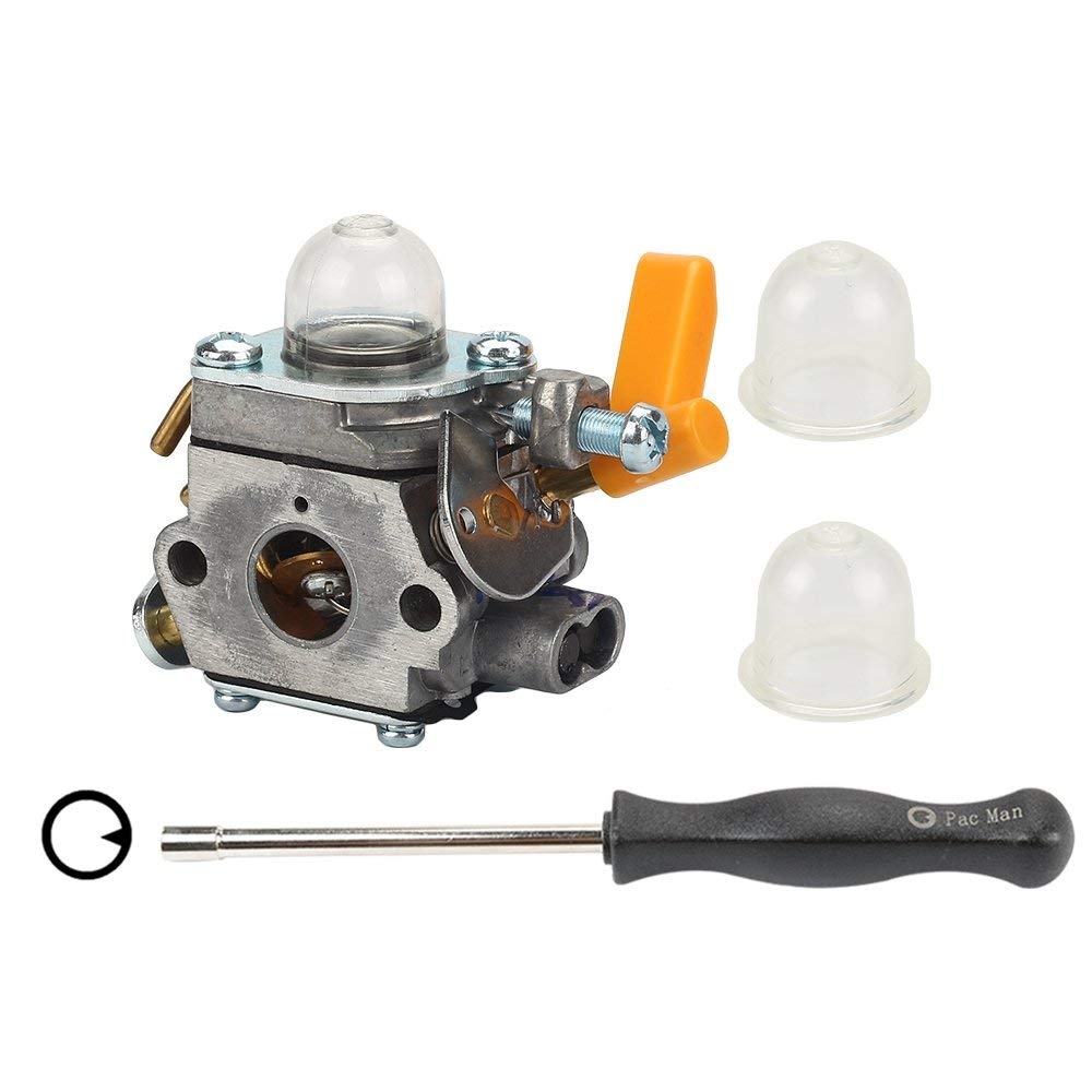 Hilom C1U-H60 Carburetor with Adjusting tool for Ryobi Homelite 30CC 26CC 25CC Trimmer Craftsman Blower Brush Cutter Replace 308054013 308054012 308054004 308054008