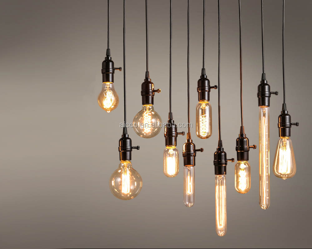 Decorative Hanging Pendant Light Vintage Industrial Loft Edison ...