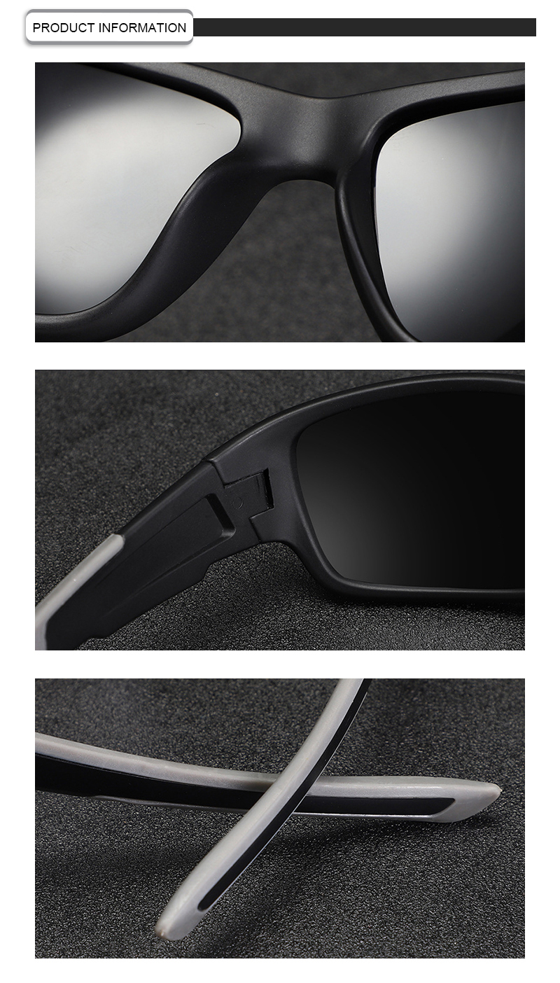 Classic male female unisex cycling driving sun glasses polarized sports sunglasses 2019