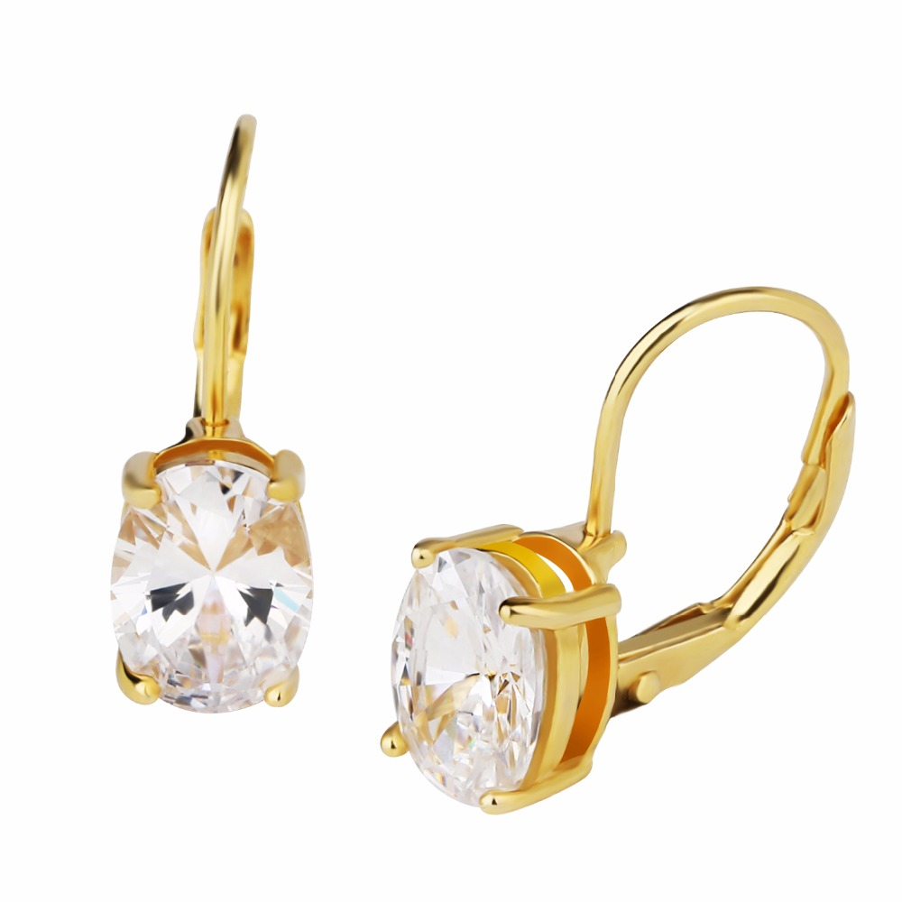 Gold Plated Bali Fashion Cz Earring Designs New Model Earrings