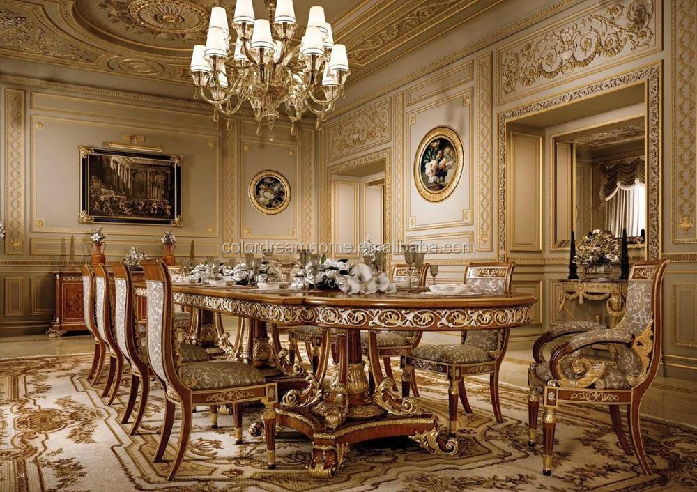 High Quality Fashion Royal Arabic Style, French Style, Italian Style  Classic Arabic Dining Room