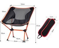 Ultralight Camping and Outdoor Chair - Lightweight, Premium Quality Aerial Aluminum Construction Heavy Duty Portable, Folding