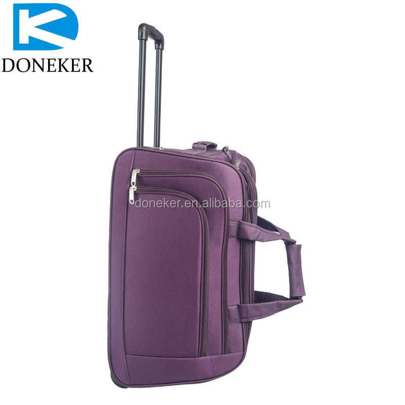 Latest Model Travel Bags With Wheels Camel Trolley Luggage Bag ...