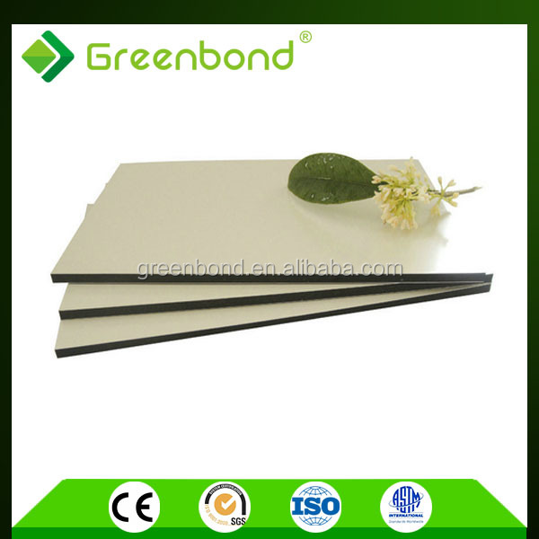 Greenbond Commercial Kitchen Stainless Steel Wall Panels With Latest  Popular Adhesive Film Aluminum Composite Sheets