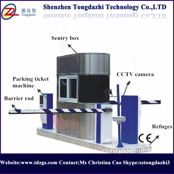 Automatic Car Parking System Barrier With Charge Auto Parking System ...