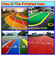 Sports surface!! good quality EPDM granules flooring, artificial grass FL-R-11135