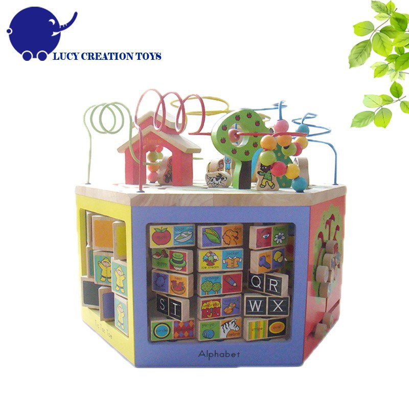 Multifunction Magic Cube Game Box Blocks Toy Learning Educational Toys for Kids