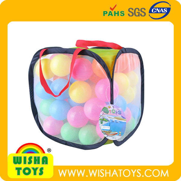 Plastic children play ground ocean balls for kids/ tent balls