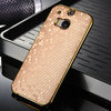 Brand new ball pattern leather case for HTC M8, cell phone case