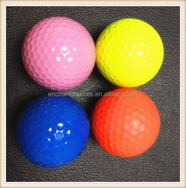 Hot selling cheap blue golf ball