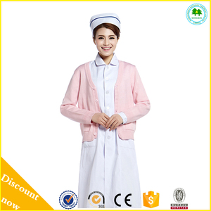 2015 New Fashion Crochet Sweater, Mongolian Cashmere Sweater for Nurse