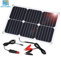 ROHS camping home laptop kit battery mobile solar panel portable solar phone charger