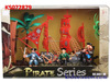 KIDSEASON PRETEND PIRATE SERIES TOYS PLAYSET WITH LIGHT & MUSIC