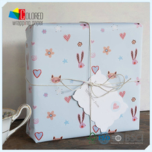 Cute Bunny Children Design Gift Paper Wrapping Sheet Infant Day