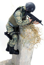 small plastic toy action soldiers figures with weapon/hot action figure for collection/custom model toy