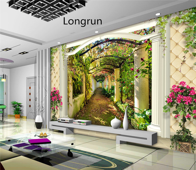 3D TV background wall printer