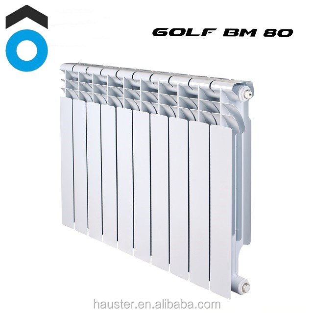 Steel aluminum Bimetal radiator for central heating system heating water radiators for home from radiator manufacturers