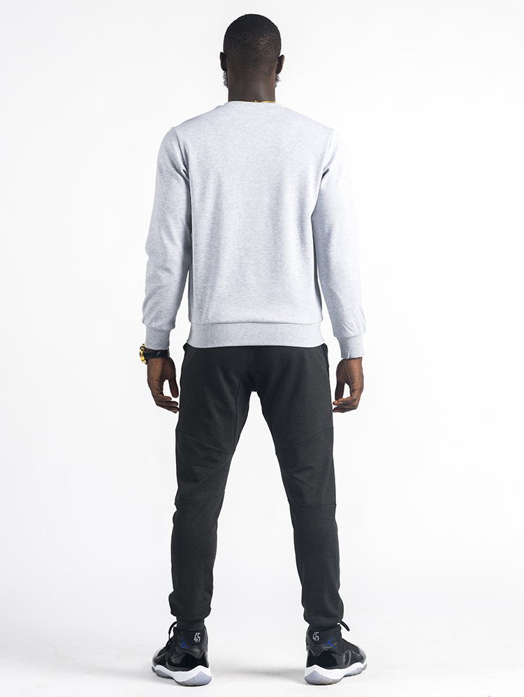 Classical Mens Crewneck Sweatshirt blank Sweatshirt Without Hood