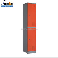 Swimming pool used portable metal storage 2 door clothes locker