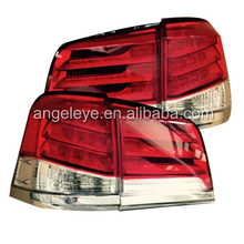For LEXUS LX570 LED rear light 2012 to 2014 year LED Tail Lamp Red white Color SN