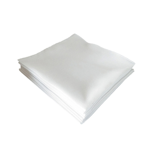 Custom Printed Cotton Pure White Handkerchief