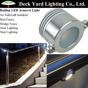 Mini 12v led rail fence lighting for outdoor and indoor led step mini 12v led rail fence lighting for outdoor and indoor led step lightingled deck rail light workwithnaturefo