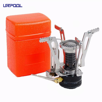 mini outdoor gas camping stove gas stove outdoor pocket stove