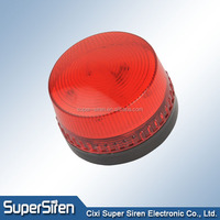 LED strobe Signal Warning Light flash Siren DC 12v strobe light , xenon strobe beacon