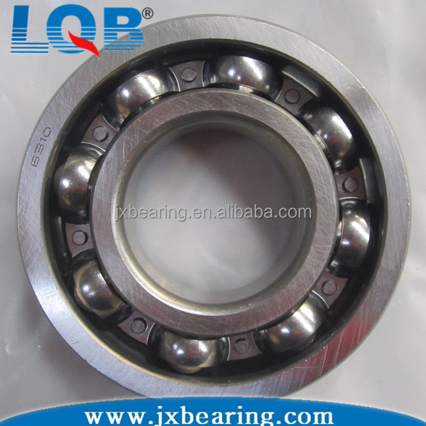 Chinese Supplier Deep Groove Ball Bearing 6310 Open ZZ 2RS Stainless Steel Chrome Steel
