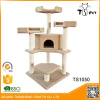 Factory Wholesale Pet Product Popular Wooden Cat Tree