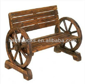 Phenomenal Wagon Wheel Bench Outdoor Double Chair Buy Wood Adirondack Chair Wooden Bench Chair Bench Wood Chairs Product On Alibaba Com Ncnpc Chair Design For Home Ncnpcorg