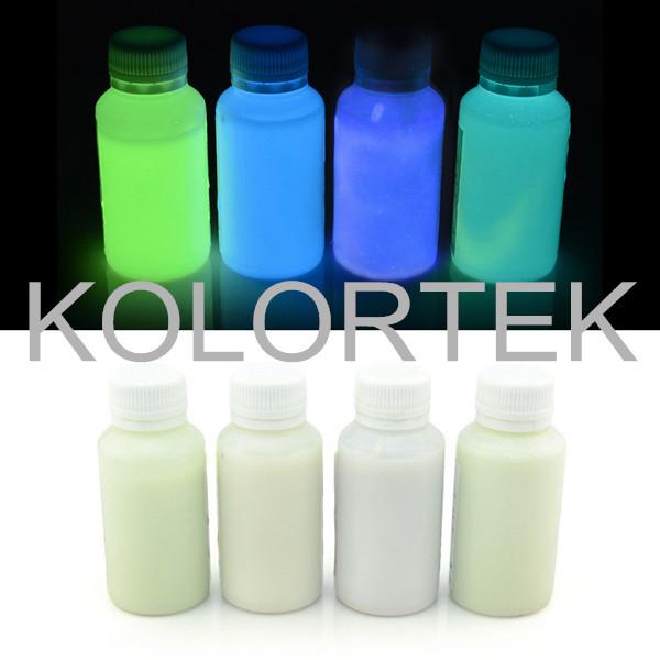 Kolortek Glow Dark Powder Nail Powder,Photoluminescent Powder ...
