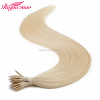 Chinese Hair Human Hair Type and Silky Straight Wave Style Nano tips