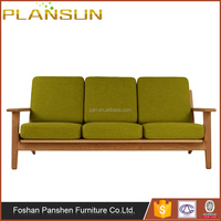 Mid century Danish design Scandinavian GE 290 Hans Wegner Plank 3 Seat Sofa
