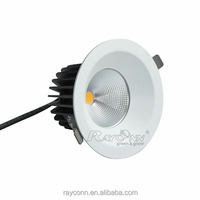 Wholesale round led panel light 30w Tridonic recessed ceiling cob led downlight for office