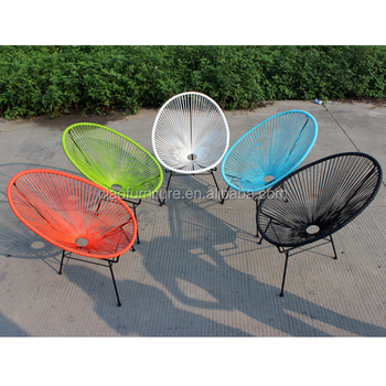 Outdoor Chair Stackable Rattan Garden Egg Chairs